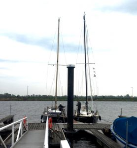 Segelboote in Elsfleth